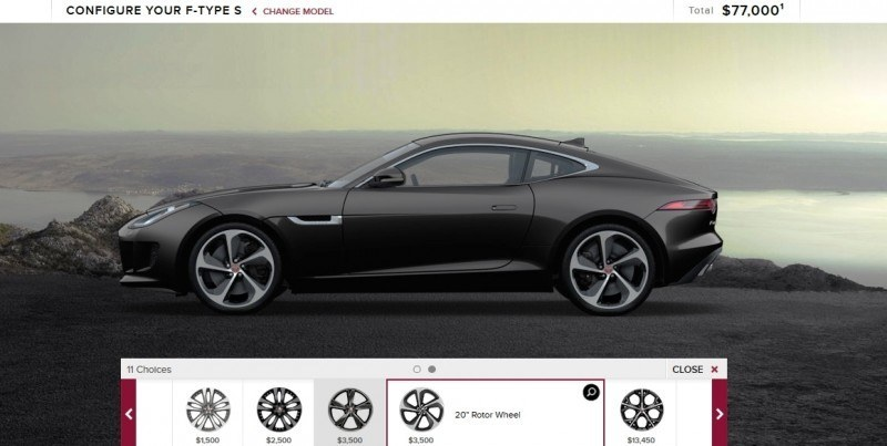 Car-Revs-Daily.com 2015 JAGUAR F-Type S Coupe - Options, Exteriors and Interior Colors Detailed15