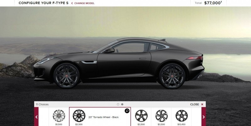 Car-Revs-Daily.com 2015 JAGUAR F-Type S Coupe - Options, Exteriors and Interior Colors Detailed17
