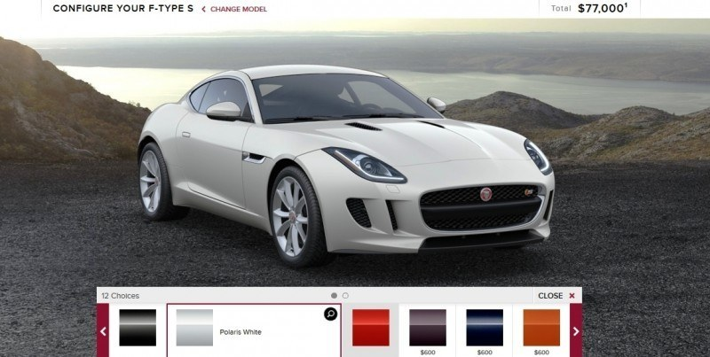 Car-Revs-Daily.com 2015 JAGUAR F-Type S Coupe - Options, Exteriors and Interior Colors Detailed2