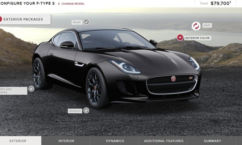 Car-Revs-Daily.com 2015 JAGUAR F-Type S Coupe - Options, Exteriors and Interior Colors Detailed23