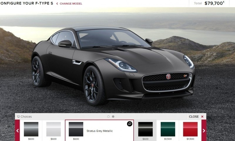 Car-Revs-Daily.com 2015 JAGUAR F-Type S Coupe - Options, Exteriors and Interior Colors Detailed25