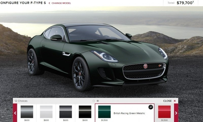 Car-Revs-Daily.com 2015 JAGUAR F-Type S Coupe - Options, Exteriors and Interior Colors Detailed27