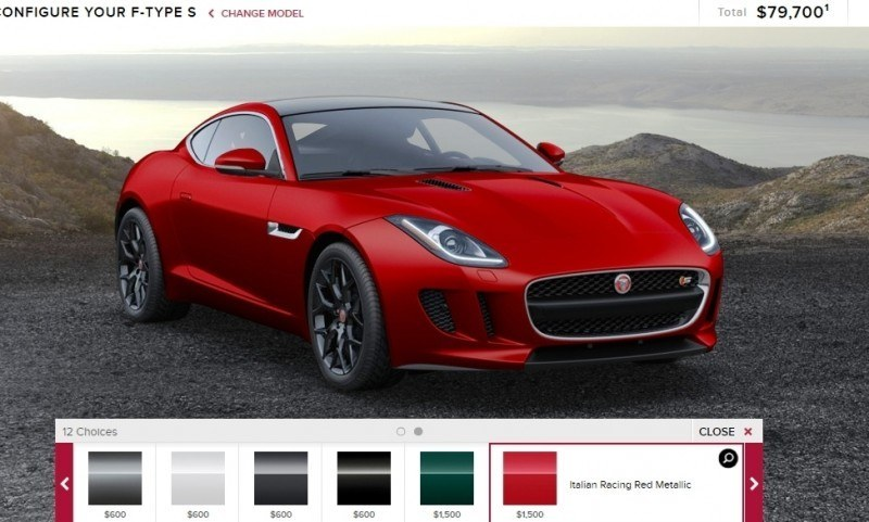Car-Revs-Daily.com 2015 JAGUAR F-Type S Coupe - Options, Exteriors and Interior Colors Detailed31
