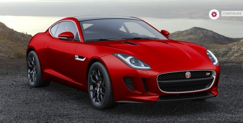 Car-Revs-Daily.com 2015 JAGUAR F-Type S Coupe - Options, Exteriors and Interior Colors Detailed40