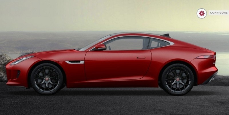 Car-Revs-Daily.com 2015 JAGUAR F-Type S Coupe - Options, Exteriors and Interior Colors Detailed44