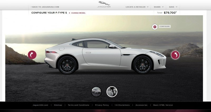 Car-Revs-Daily.com 2015 JAGUAR F-Type S Coupe - Options, Exteriors and Interior Colors Detailed47