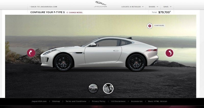 Car-Revs-Daily.com 2015 JAGUAR F-Type S Coupe - Options, Exteriors and Interior Colors Detailed50