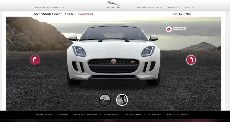 Car-Revs-Daily.com 2015 JAGUAR F-Type S Coupe - Options, Exteriors and Interior Colors Detailed51