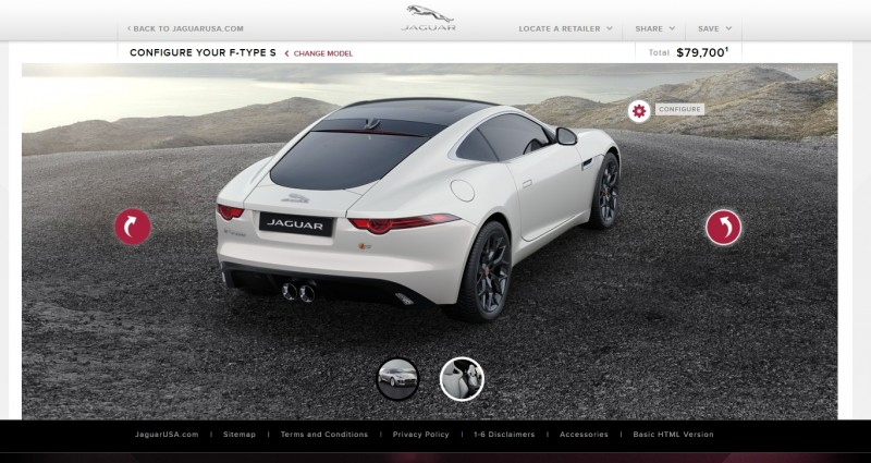 Car-Revs-Daily.com 2015 JAGUAR F-Type S Coupe - Options, Exteriors and Interior Colors Detailed55