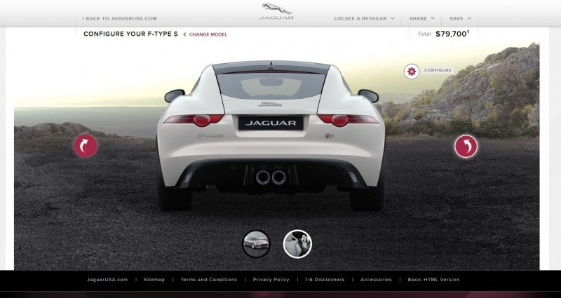 Car-Revs-Daily.com 2015 JAGUAR F-Type S Coupe - Options, Exteriors and Interior Colors Detailed56