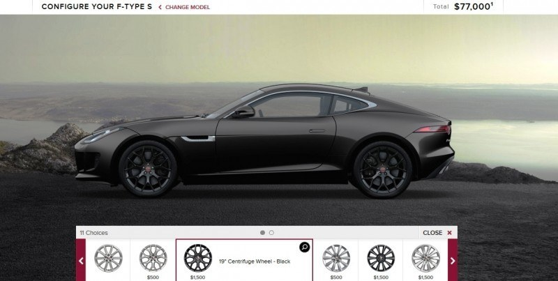 Car-Revs-Daily.com 2015 JAGUAR F-Type S Coupe - Options, Exteriors and Interior Colors Detailed6