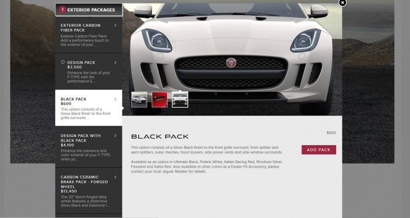 Car-Revs-Daily.com 2015 JAGUAR F-Type S Coupe - Options, Exteriors and Interior Colors Detailed64