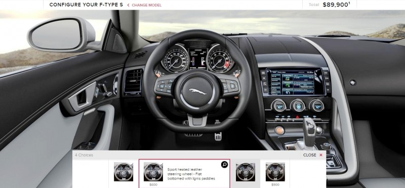 Car-Revs-Daily.com 2015 JAGUAR F-Type S Coupe - Options, Exteriors and Interior Colors Detailed96