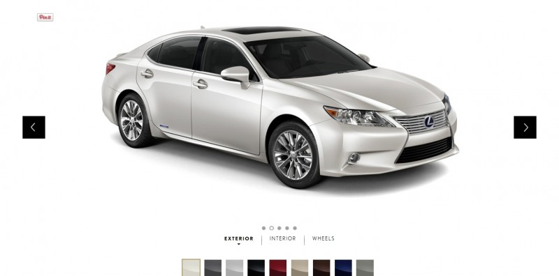 Car-Revs-Daily.com 2015 Lexus ES300h Review 1