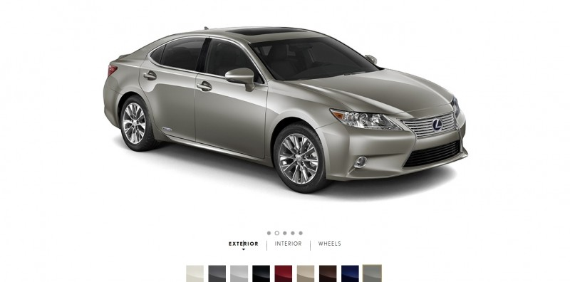 Car-Revs-Daily.com 2015 Lexus ES300h Review 10