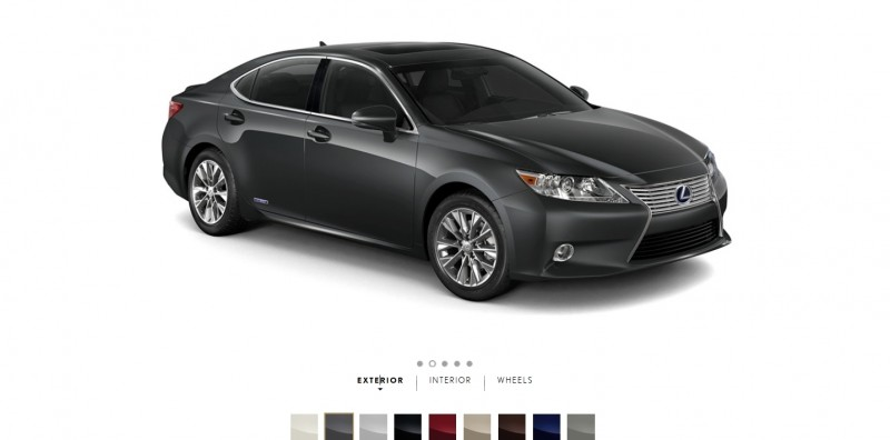 Car-Revs-Daily.com 2015 Lexus ES300h Review 2