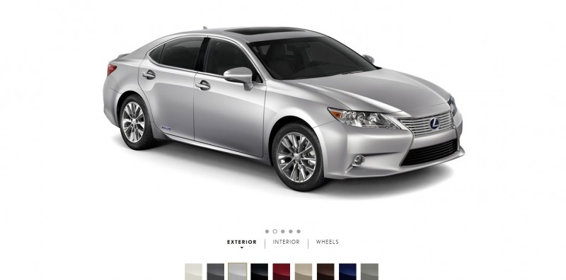 Car-Revs-Daily.com 2015 Lexus ES300h Review 3