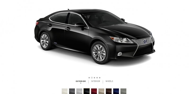 Car-Revs-Daily.com 2015 Lexus ES300h Review 4