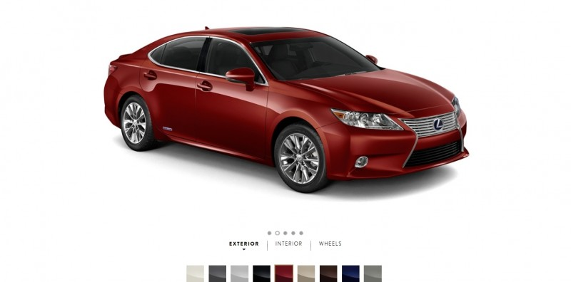 Car-Revs-Daily.com 2015 Lexus ES300h Review 5