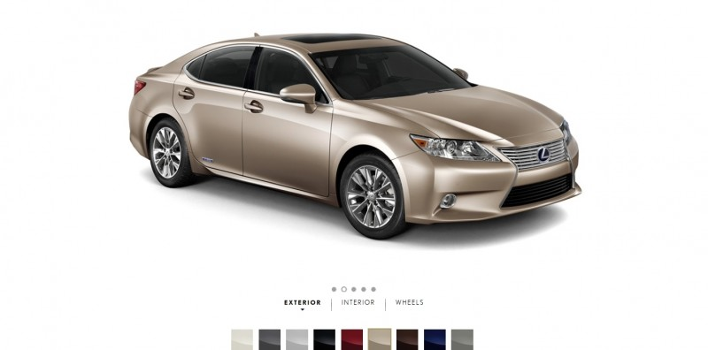 Car-Revs-Daily.com 2015 Lexus ES300h Review 7