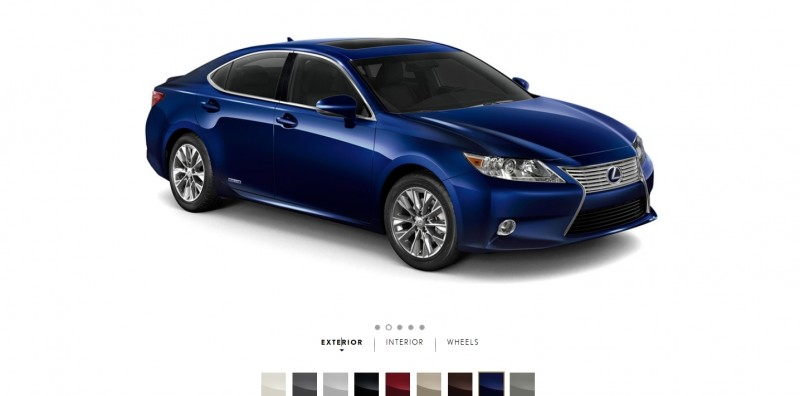 Car-Revs-Daily.com 2015 Lexus ES300h Review 9