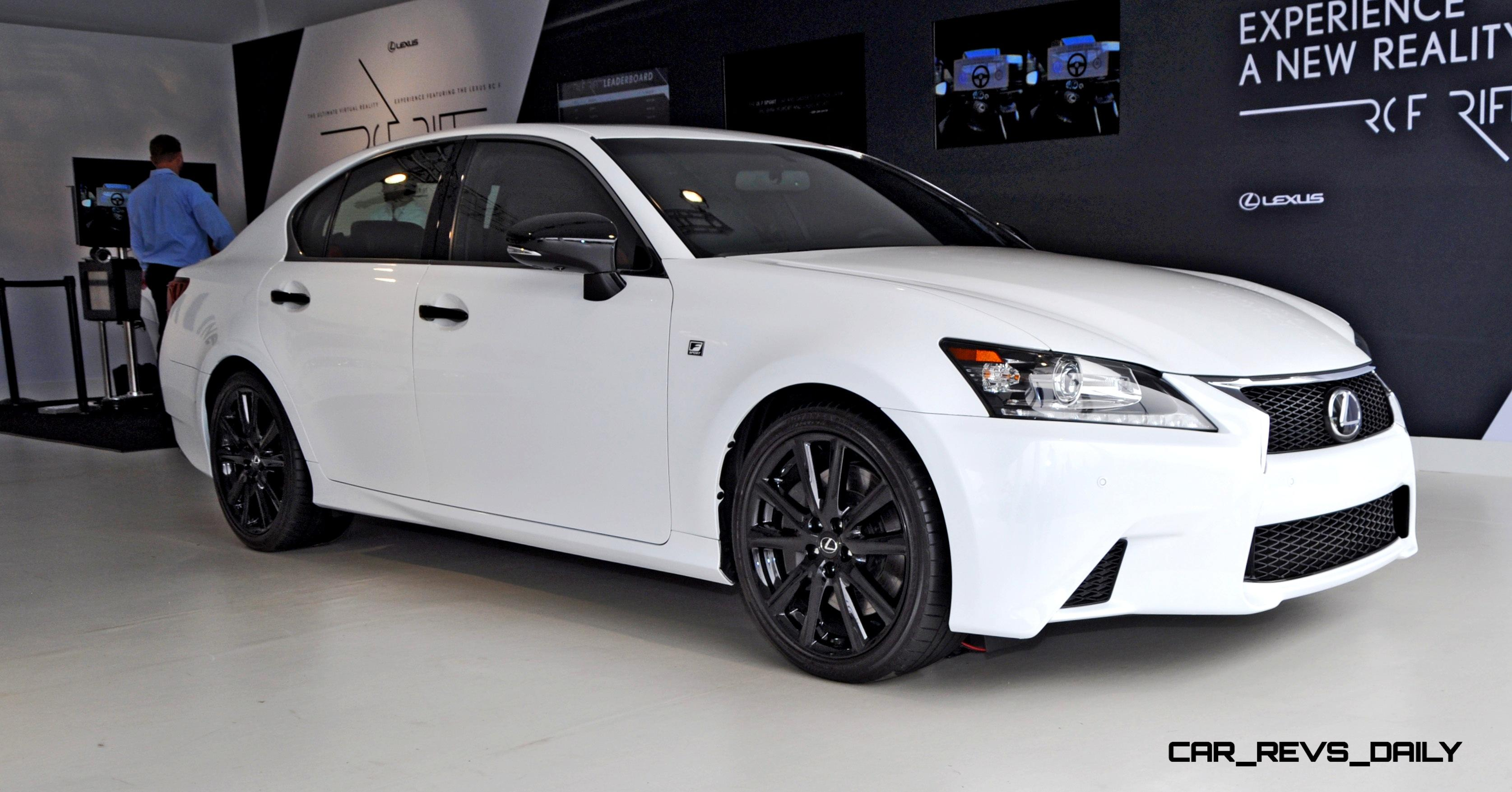 2015 lexus gs350 crafted line aces style mood in bright white over gloss black 37 new photos. Black Bedroom Furniture Sets. Home Design Ideas