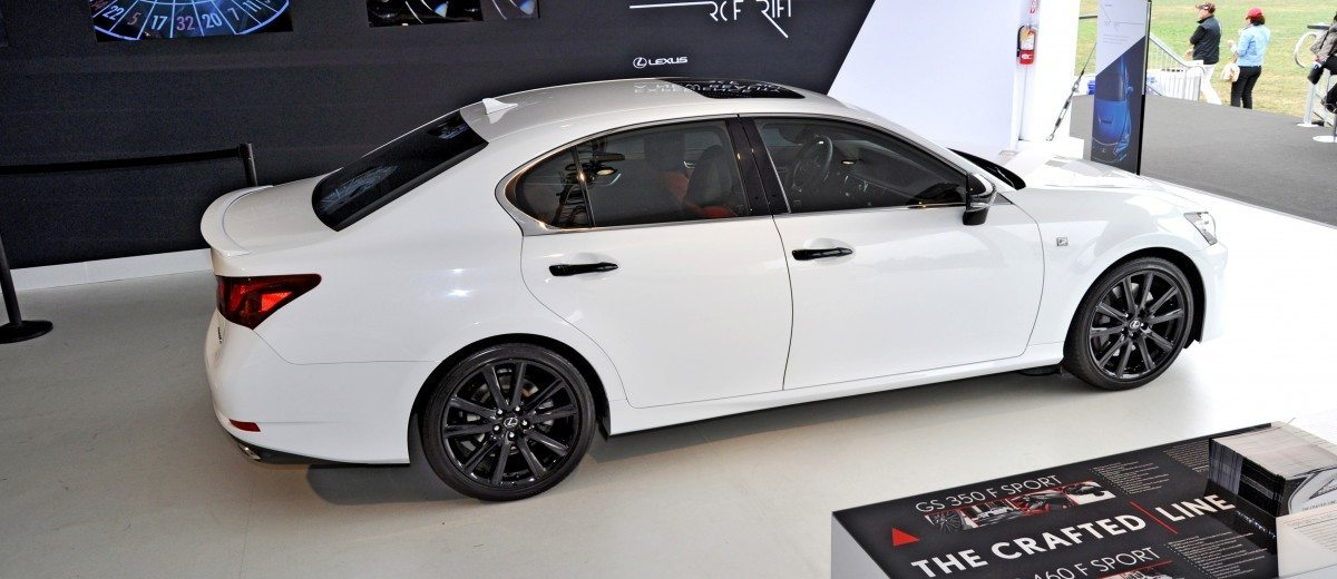 car revs 2015 lexus gs350 crafted line pebble beach 21. Black Bedroom Furniture Sets. Home Design Ideas