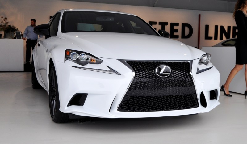 Car-Revs-Daily.com 2015 Lexus IS250 F Sport CRAFTED LINE 1