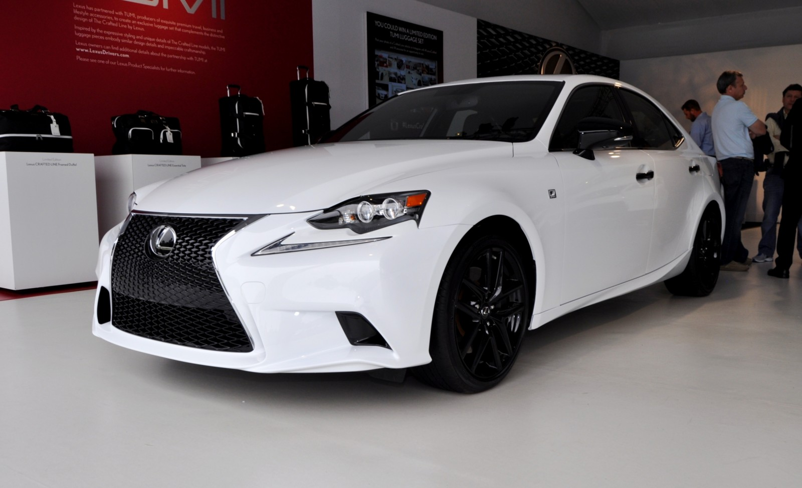 car revs 2015 lexus is250 f sport crafted line 11. Black Bedroom Furniture Sets. Home Design Ideas