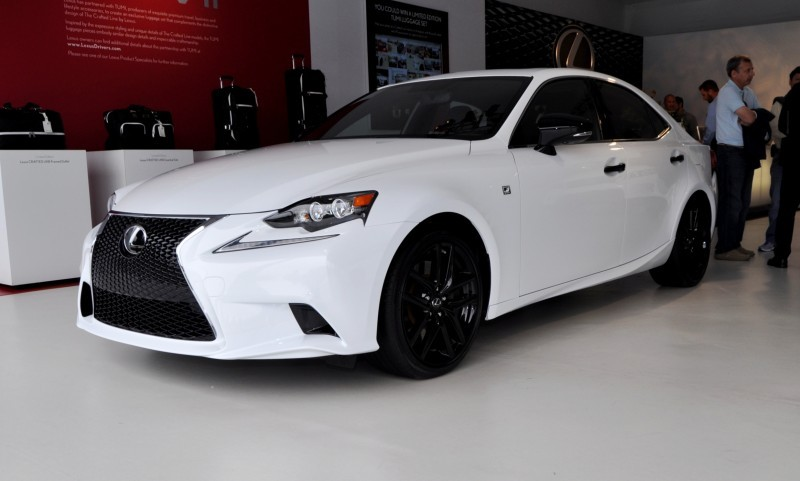 Car-Revs-Daily.com 2015 Lexus IS250 F Sport CRAFTED LINE 11