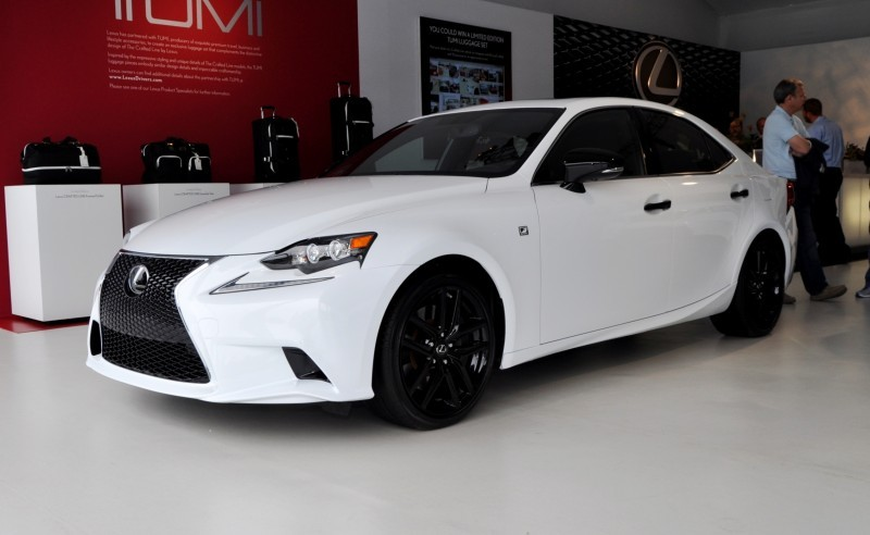 Car-Revs-Daily.com 2015 Lexus IS250 F Sport CRAFTED LINE 12