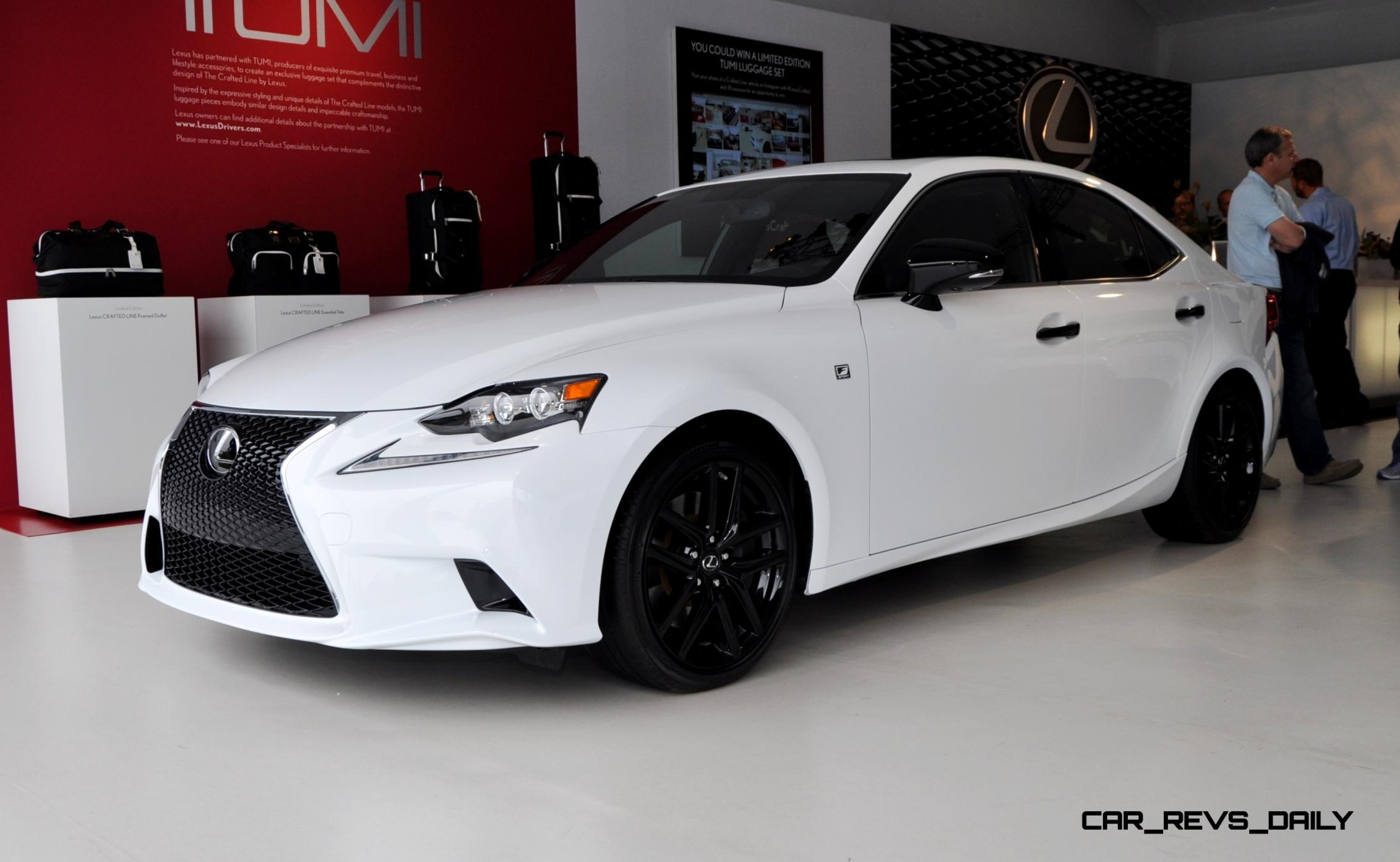 Car Revs Daily 2015 Lexus IS250 F Sport CRAFTED LINE 12