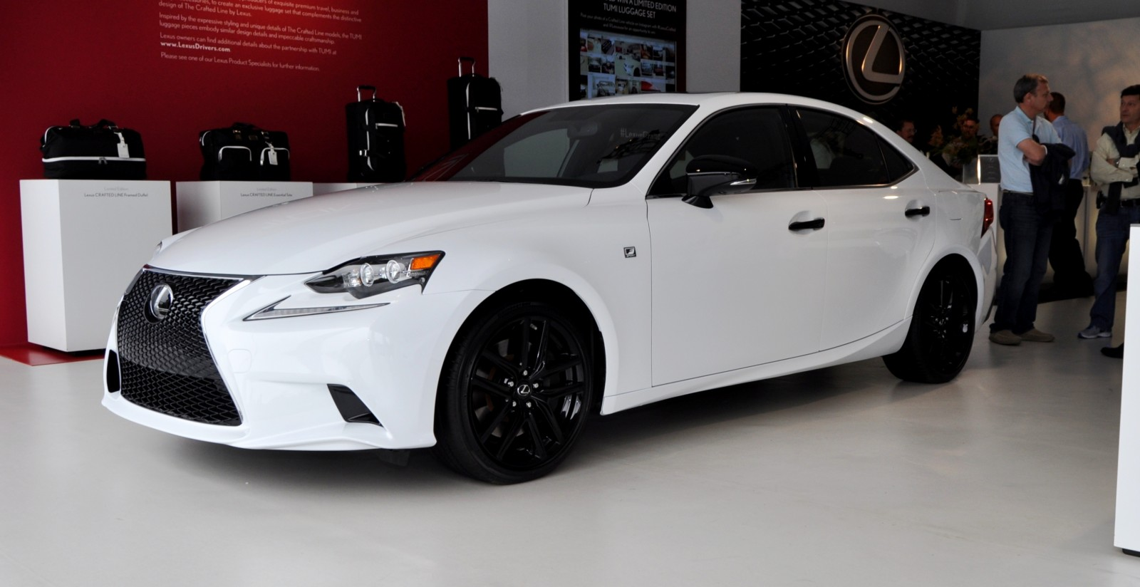 car revs 2015 lexus is250 f sport crafted line 15. Black Bedroom Furniture Sets. Home Design Ideas