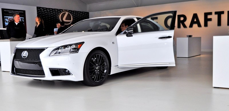 Car-Revs-Daily.com 2015 Lexus LS460 F Sport Crafted Line Is Most-Enhanced by Glossy Black and White Makeover 11