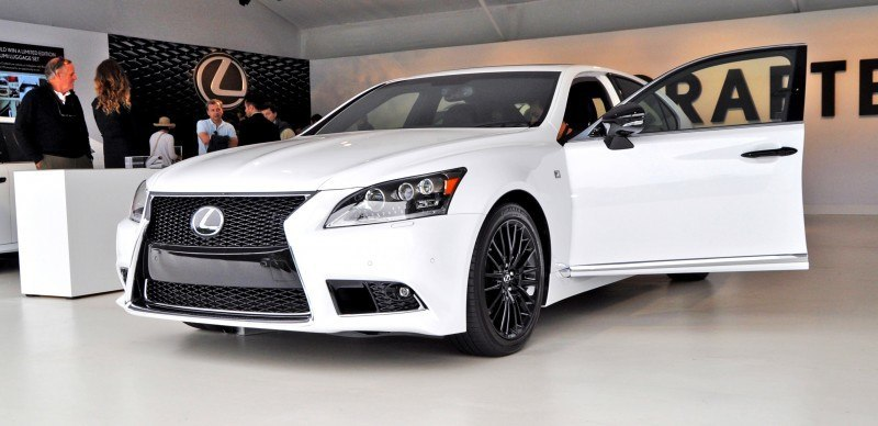 Car-Revs-Daily.com 2015 Lexus LS460 F Sport Crafted Line Is Most-Enhanced by Glossy Black and White Makeover 12