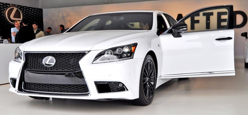 Car-Revs-Daily.com 2015 Lexus LS460 F Sport Crafted Line Is Most-Enhanced by Glossy Black and White Makeover 14