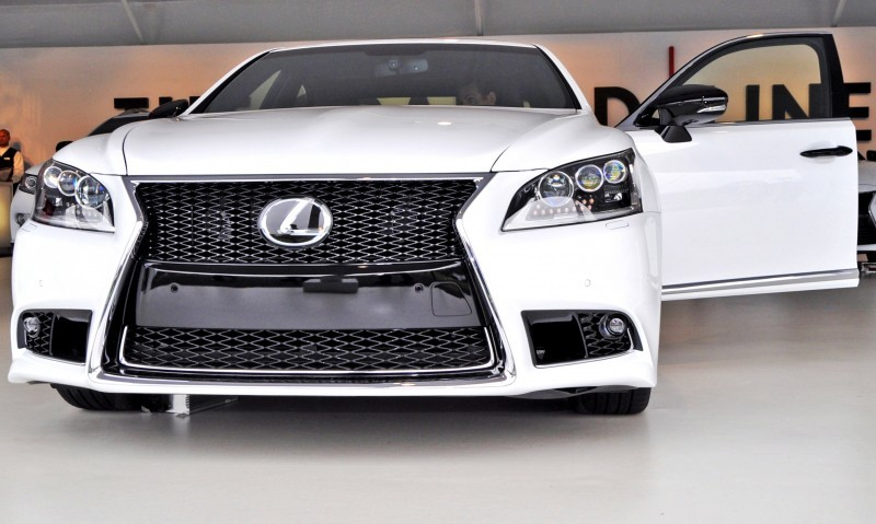 Car-Revs-Daily.com 2015 Lexus LS460 F Sport Crafted Line Is Most-Enhanced by Glossy Black and White Makeover 16