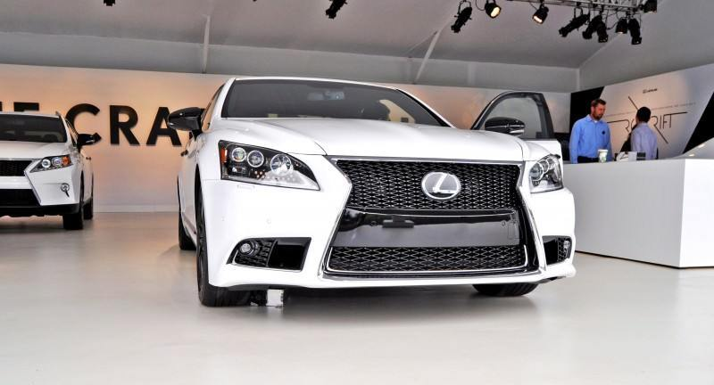 Car-Revs-Daily.com 2015 Lexus LS460 F Sport Crafted Line Is Most-Enhanced by Glossy Black and White Makeover 19