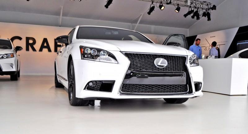 Car-Revs-Daily.com 2015 Lexus LS460 F Sport Crafted Line Is Most-Enhanced by Glossy Black and White Makeover 20