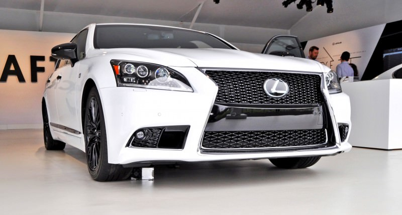 Car-Revs-Daily.com 2015 Lexus LS460 F Sport Crafted Line Is Most-Enhanced by Glossy Black and White Makeover 21