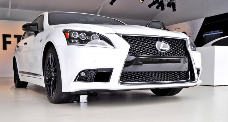 Car-Revs-Daily.com 2015 Lexus LS460 F Sport Crafted Line Is Most-Enhanced by Glossy Black and White Makeover 22