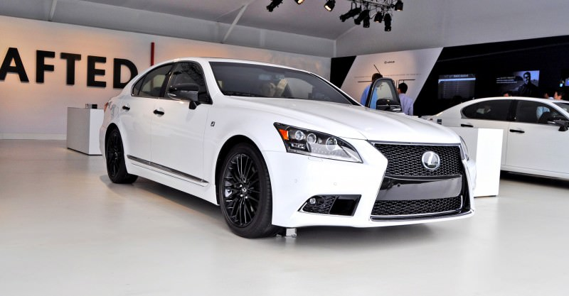 Car-Revs-Daily.com 2015 Lexus LS460 F Sport Crafted Line Is Most-Enhanced by Glossy Black and White Makeover 24