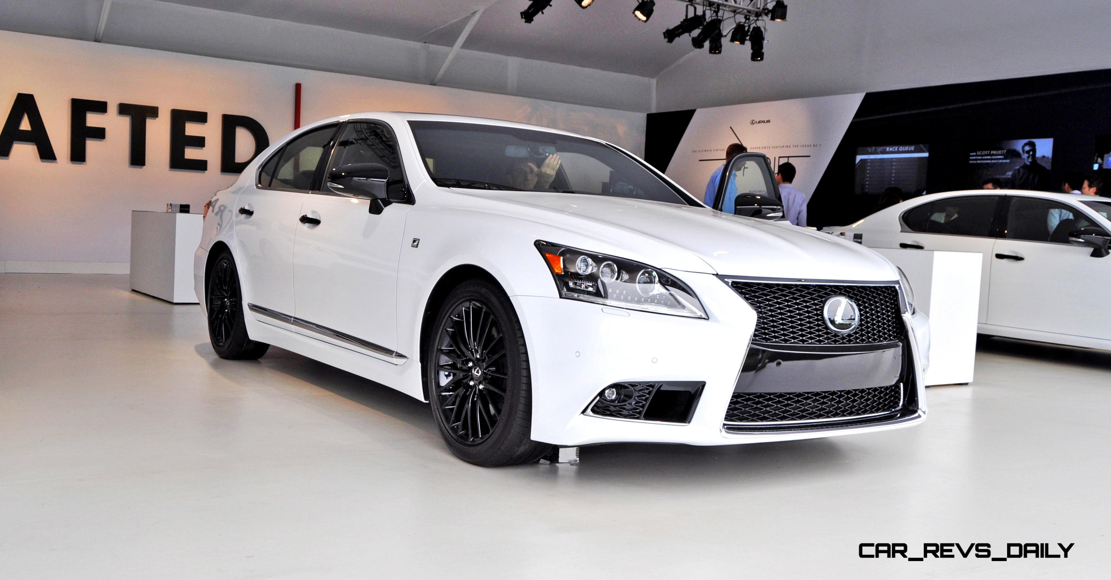 2015 Lexus LS460 F Sport Crafted Line Pebble Beach Debut