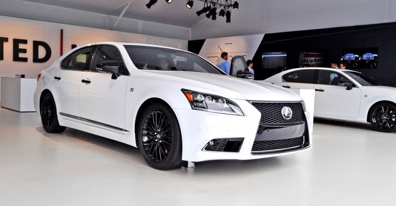 Car-Revs-Daily.com 2015 Lexus LS460 F Sport Crafted Line Is Most-Enhanced by Glossy Black and White Makeover 25