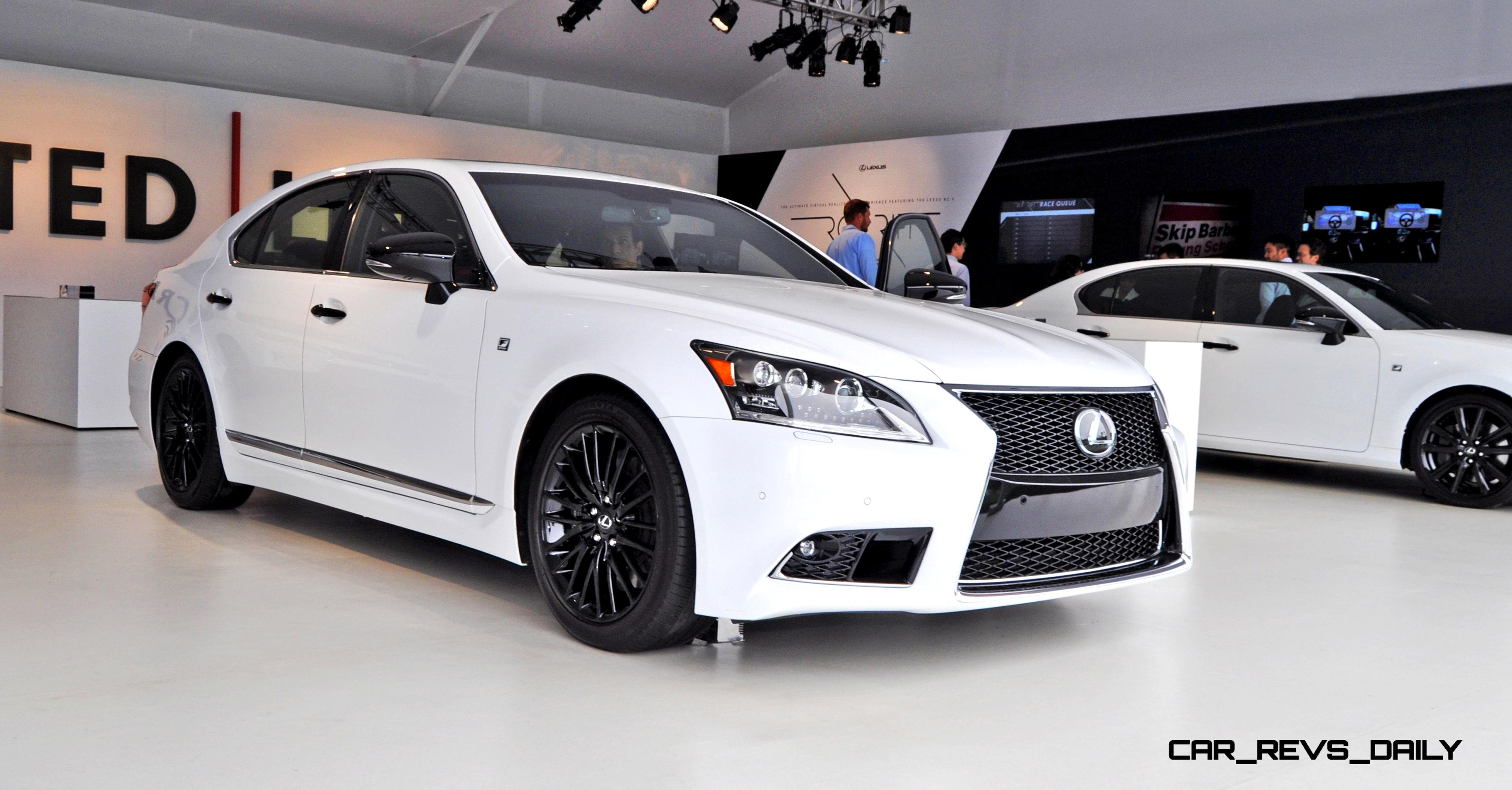 Car Revs Daily 2017 Lexus Ls460 F Sport Crafted Line Is Most Enhanced By Glossy Black And White Makeover 25