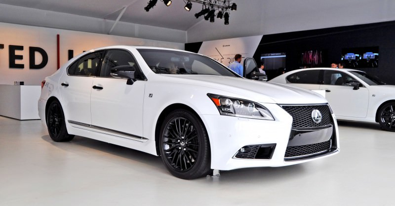Car-Revs-Daily.com 2015 Lexus LS460 F Sport Crafted Line Is Most-Enhanced by Glossy Black and White Makeover 26