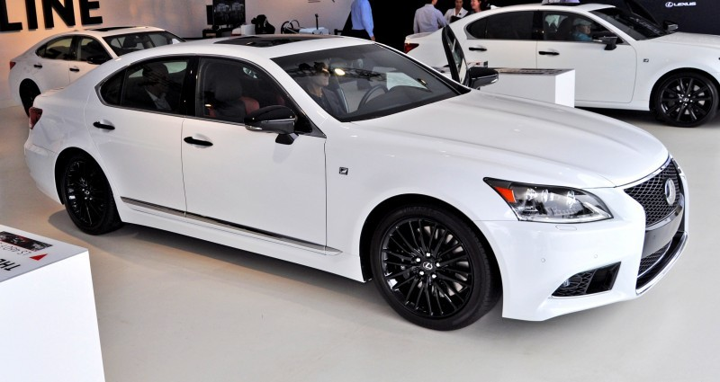 Car-Revs-Daily.com 2015 Lexus LS460 F Sport Crafted Line Is Most-Enhanced by Glossy Black and White Makeover 28
