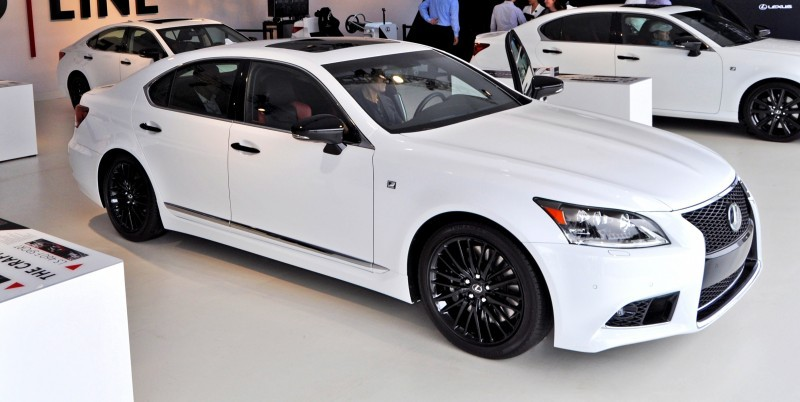 Car-Revs-Daily.com 2015 Lexus LS460 F Sport Crafted Line Is Most-Enhanced by Glossy Black and White Makeover 29