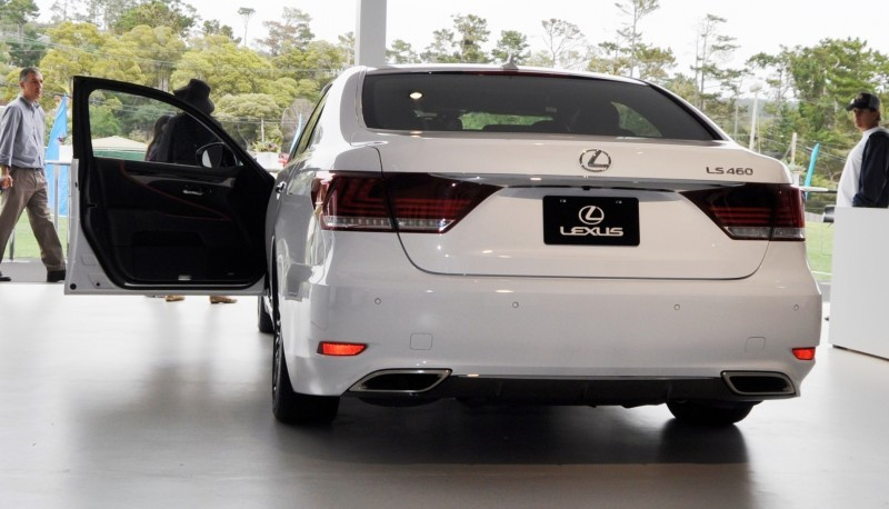Car-Revs-Daily.com 2015 Lexus LS460 F Sport Crafted Line Is Most-Enhanced by Glossy Black and White Makeover 3