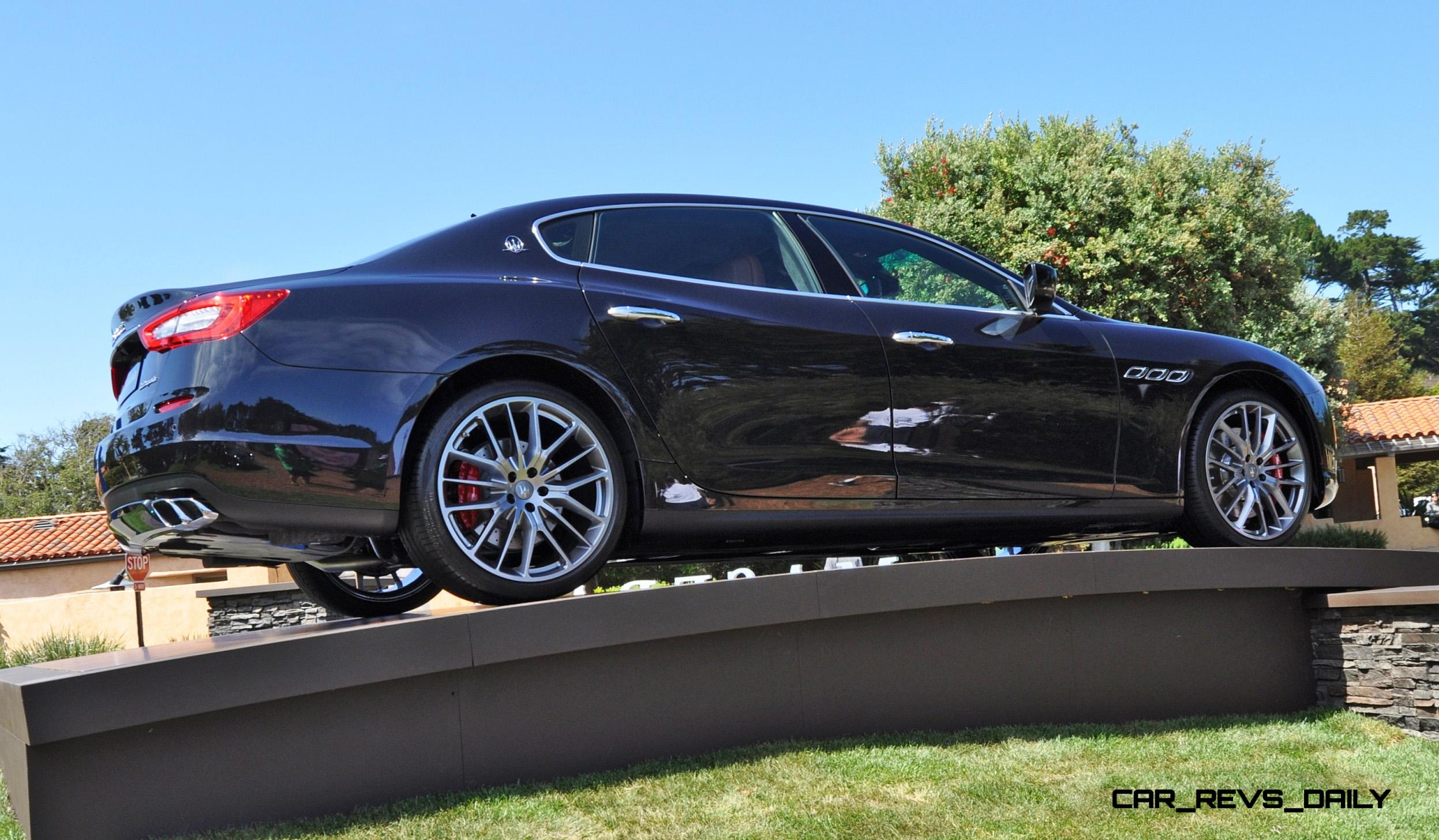 2015 Maserati Quattroporte Buyers Guide to Colors Wheels